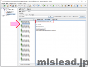 JMeter CSV読み込み用 結果を表で表示 リクエストタブ random関数利用