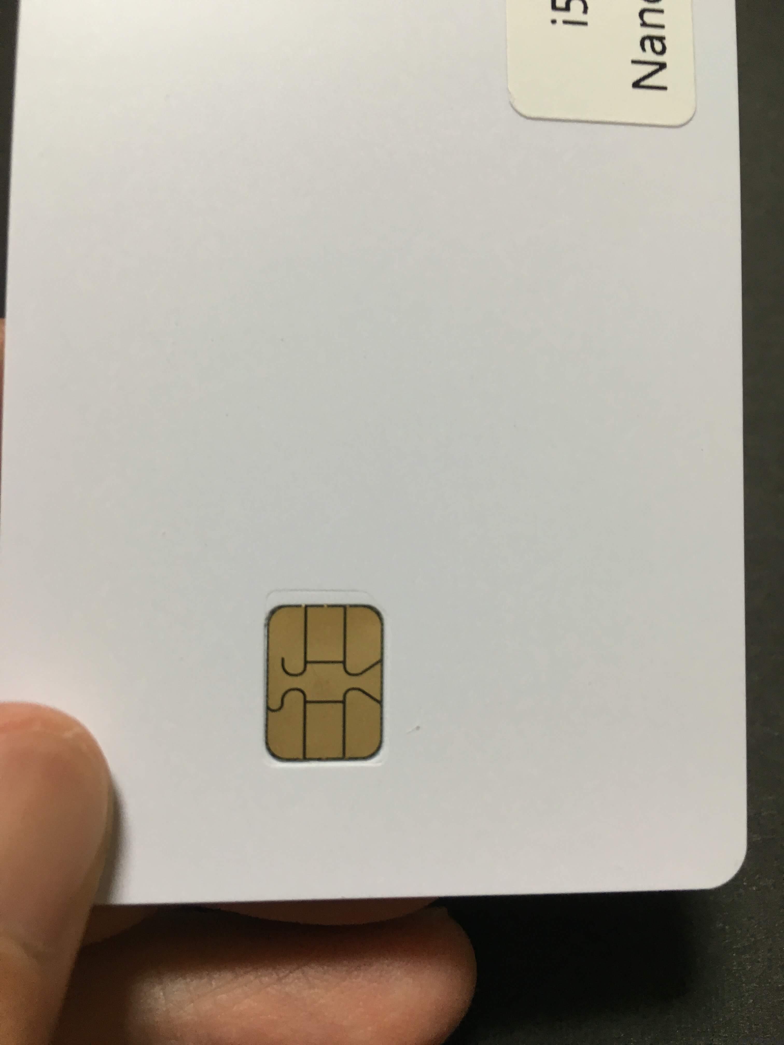 iPhone5 au専用アクティベートSIMカード SIM拡大