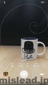 HUAWEI P9 カメラモード画面キャプチャ