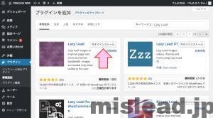 Lazy Load プラグイン 検索