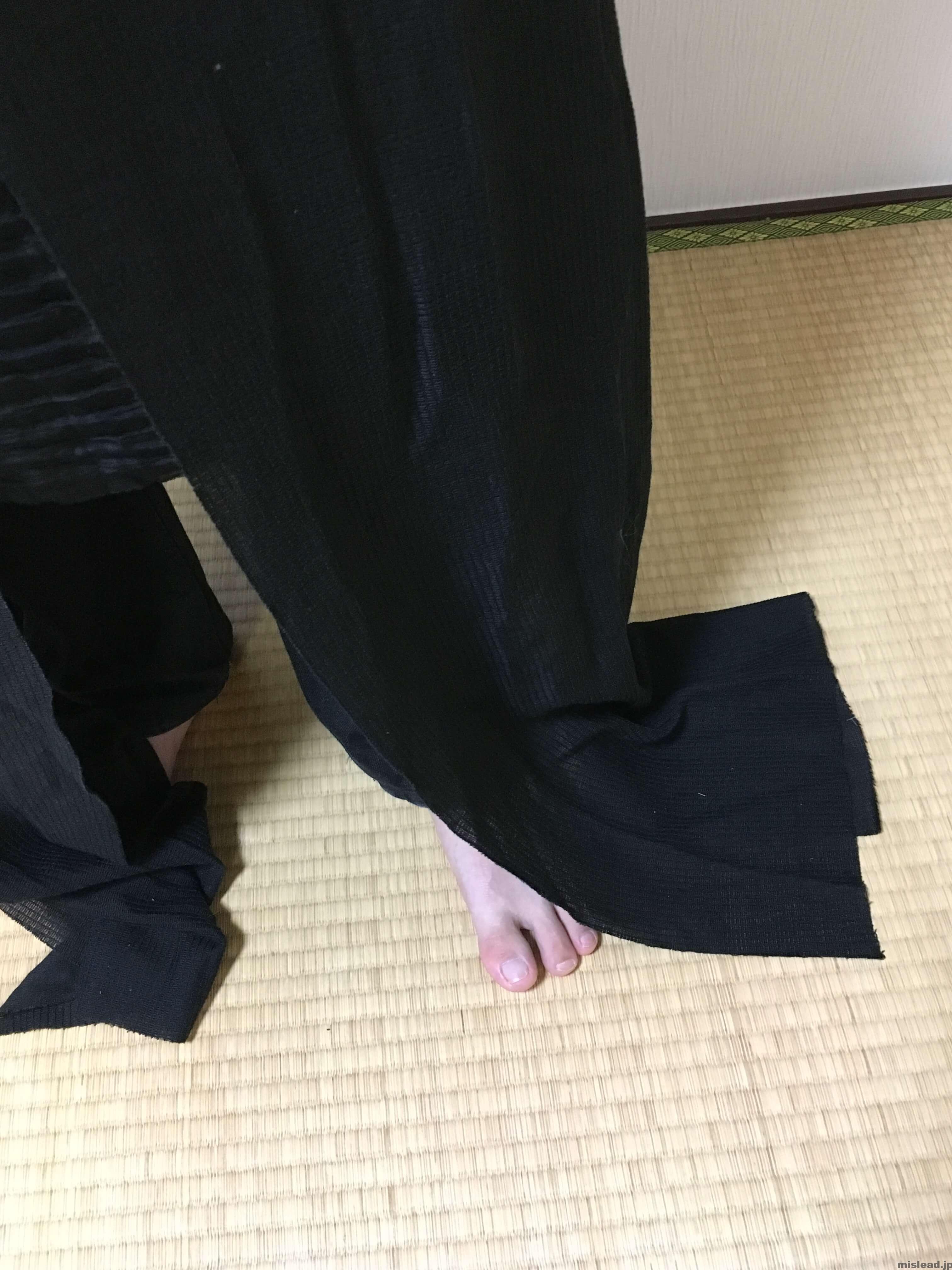 足元 カイロ・レン コスプレ衣装