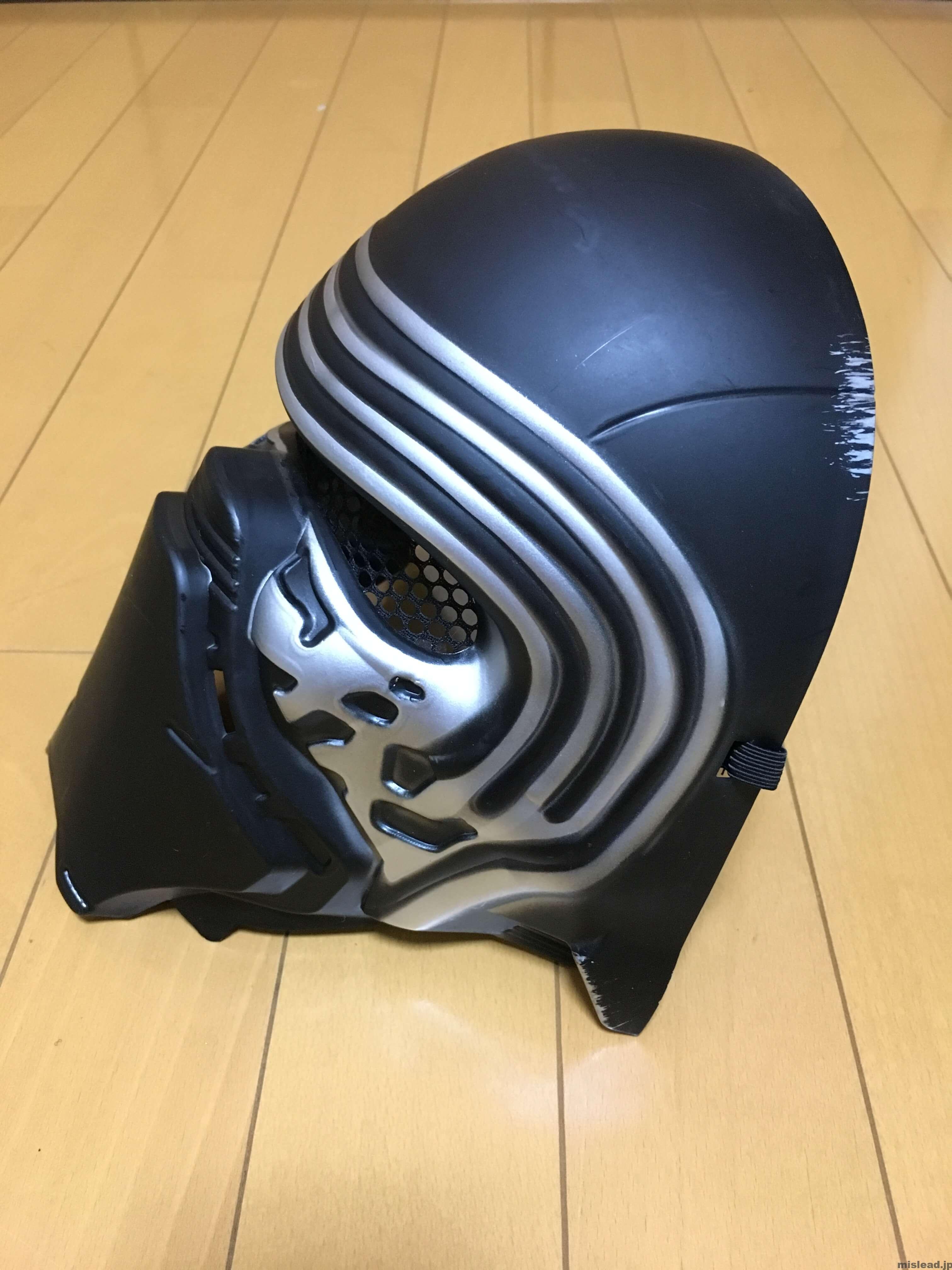 マスク横 カイロ・レン コスプレ衣装