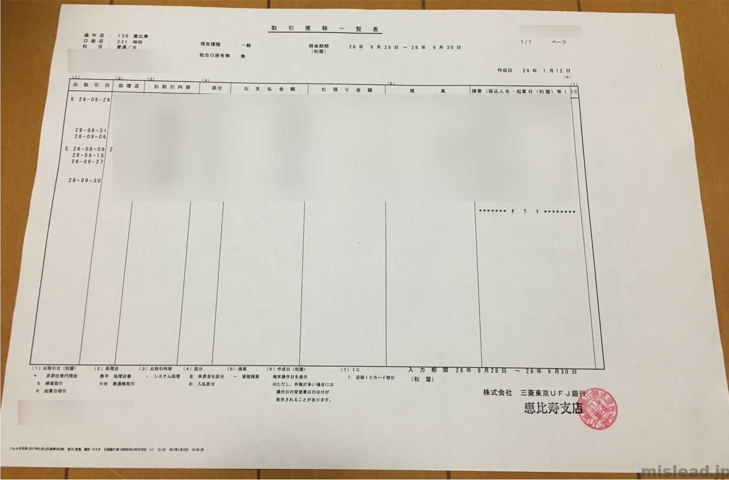 合計記帳の内訳2
