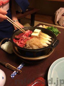 今半 昼のすき焼 鍋