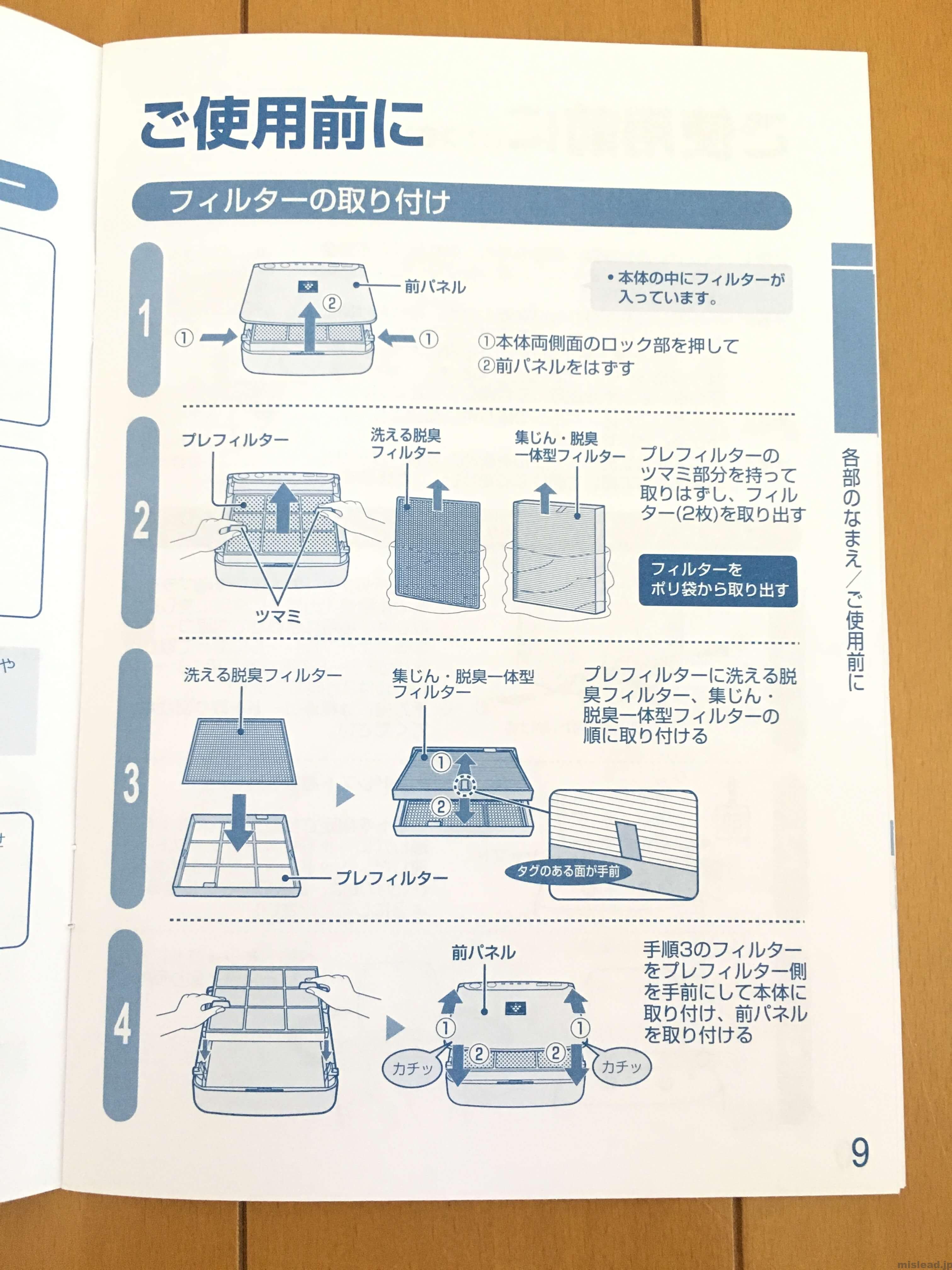 車載用プラズマクラスター 取扱説明書