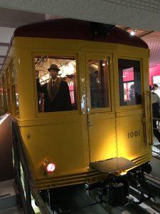 地下鉄博物館 黄色い電車