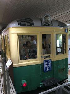地下鉄博物館 緑の電車