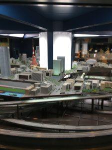 電車のジオラマ 地下鉄博物館