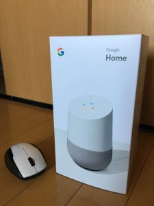 Google Home外箱