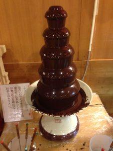 龍宮城ホテル三日月 バイキング チョコフォンデュ2