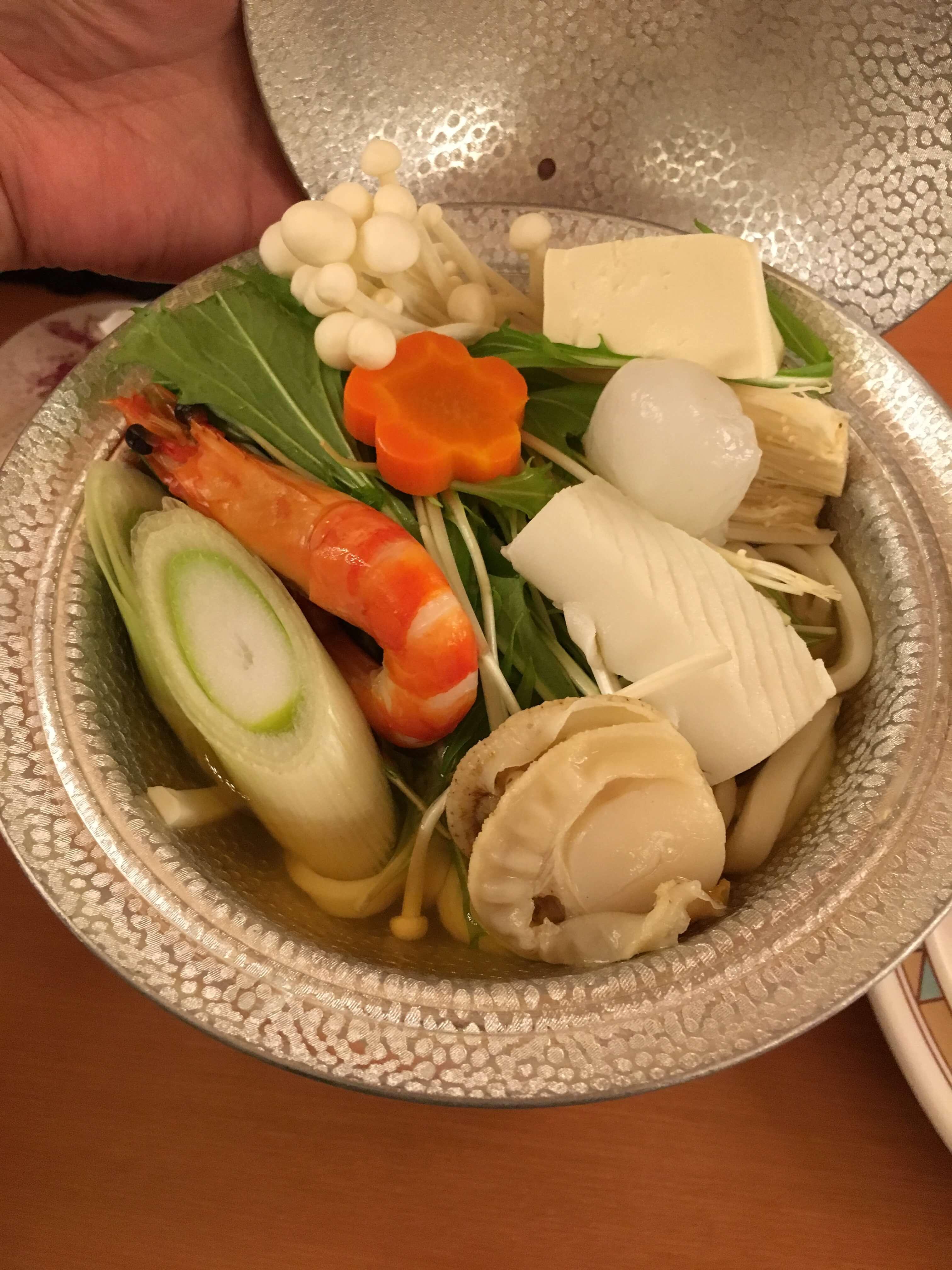 龍宮城ホテル三日月 バイキング 鍋