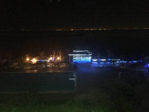 龍宮城ホテル三日月 夜景