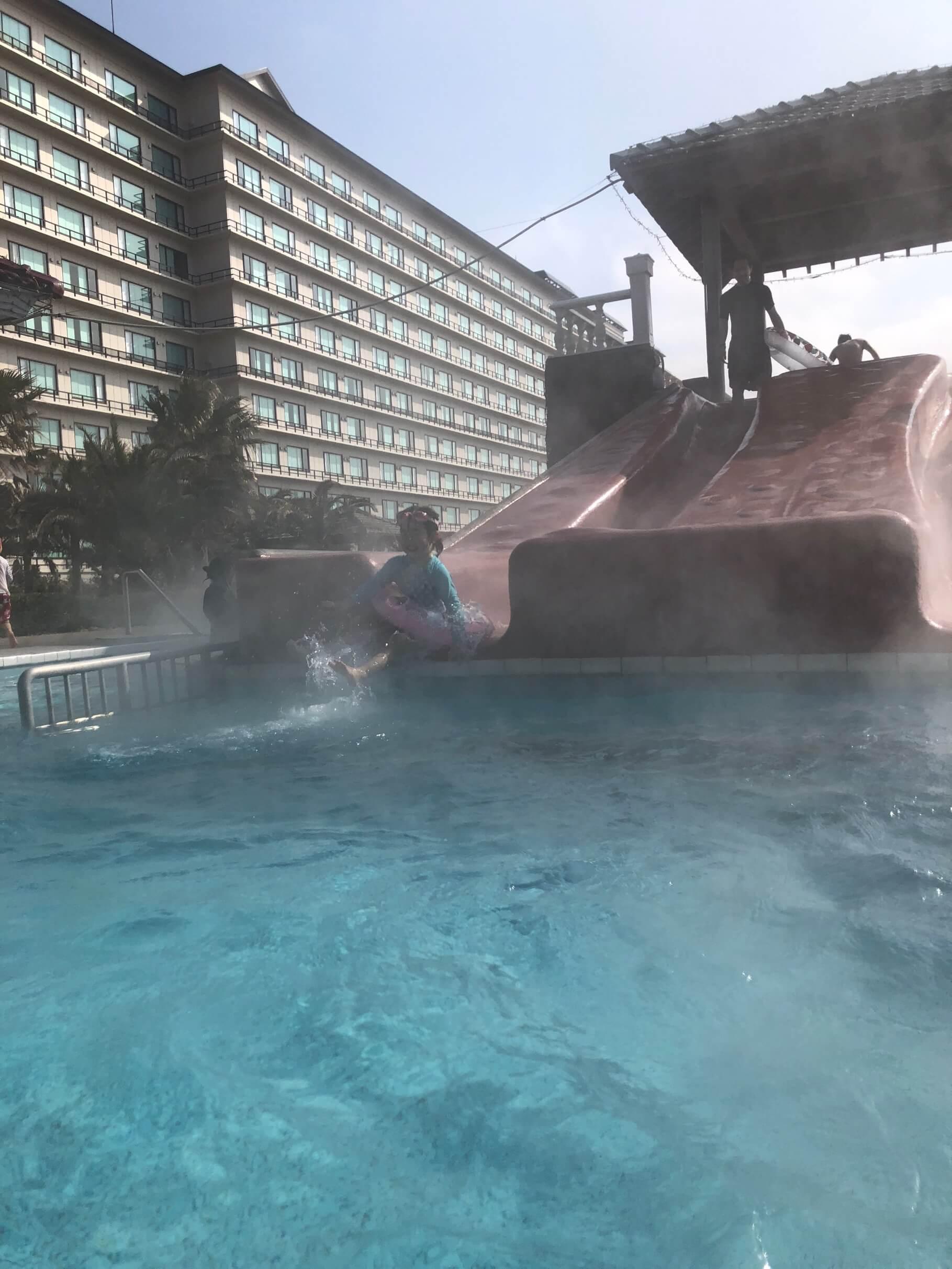 龍宮城ホテル三日月 屋外プール3