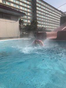 龍宮城ホテル三日月 屋外プール4