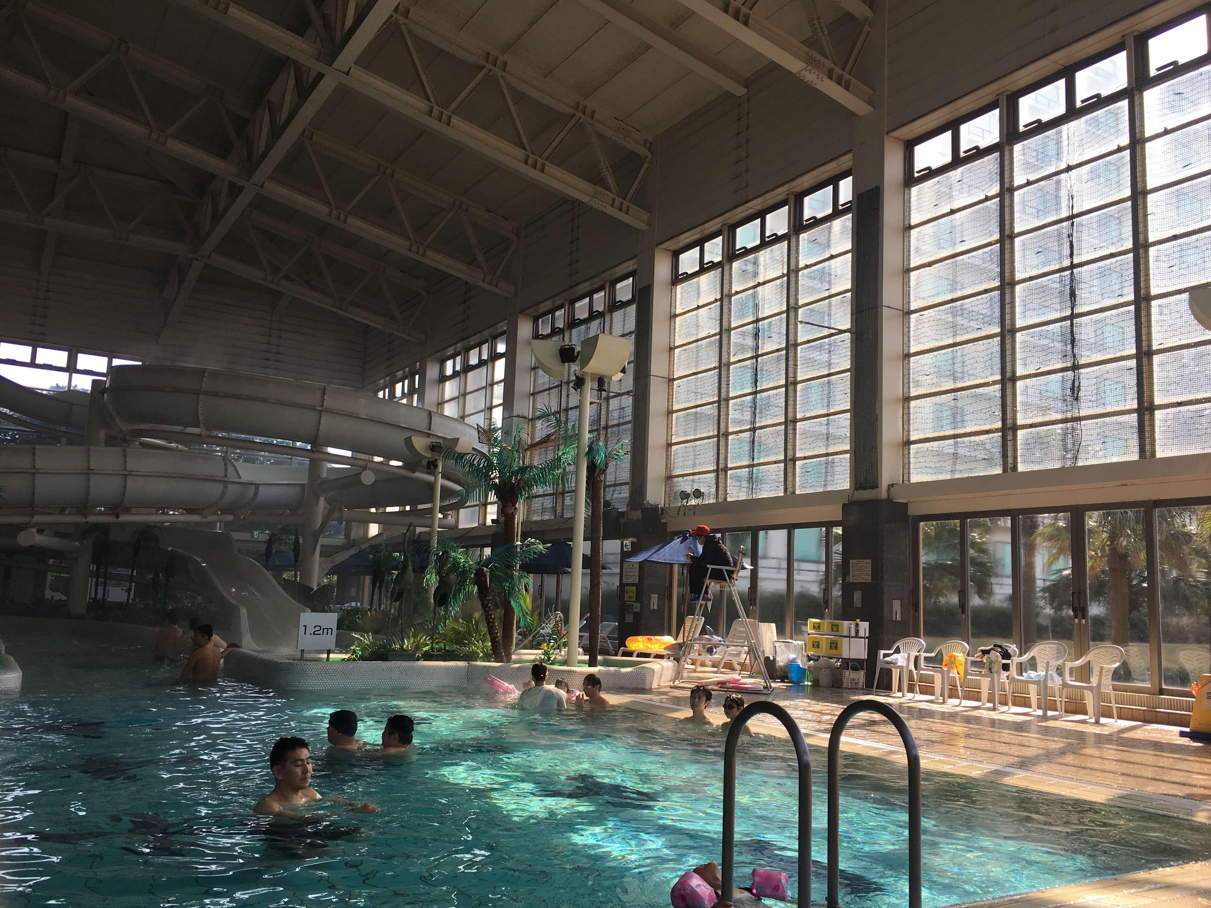 龍宮城ホテル三日月 プール2