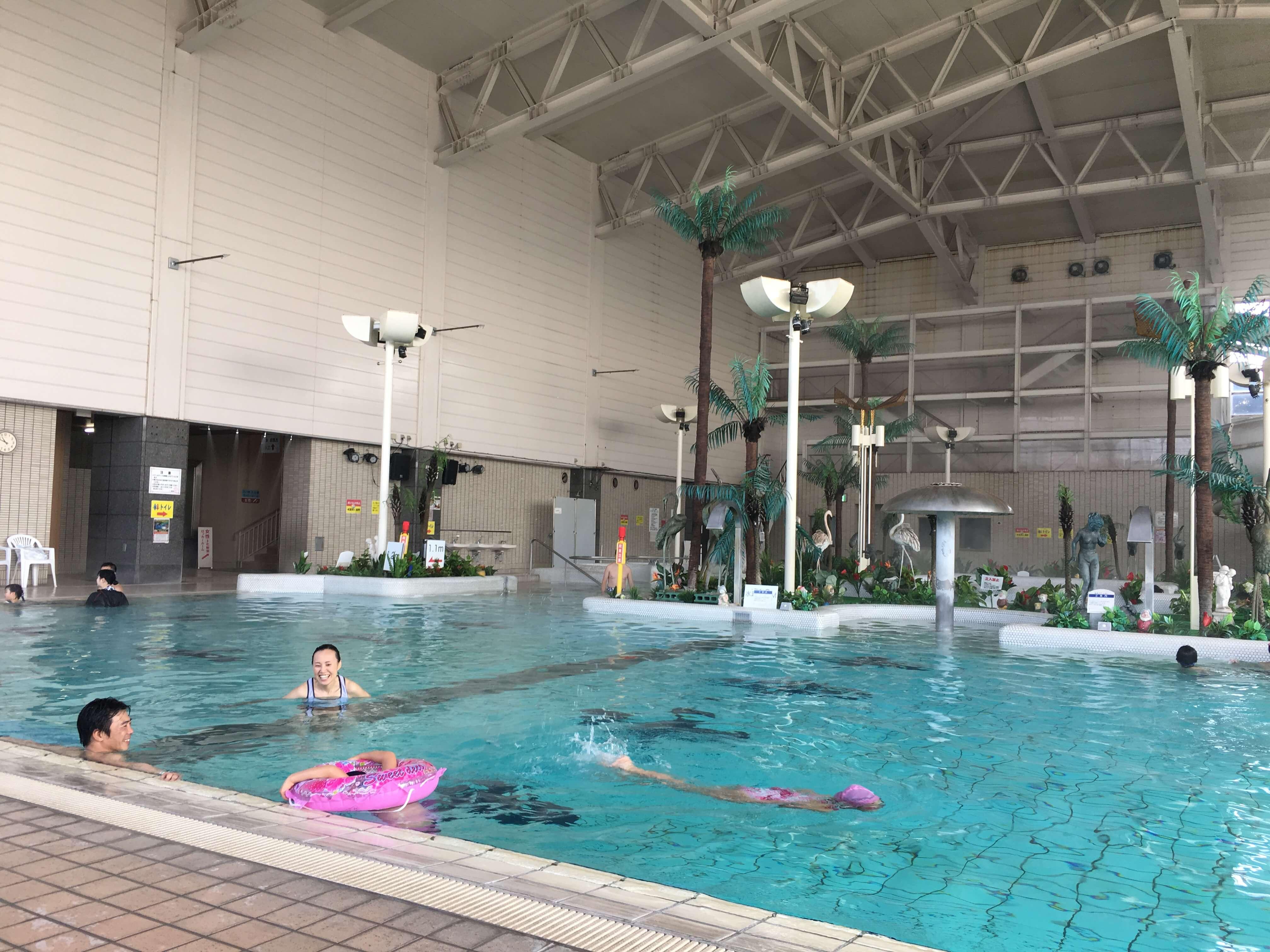 龍宮城ホテル三日月 プール3