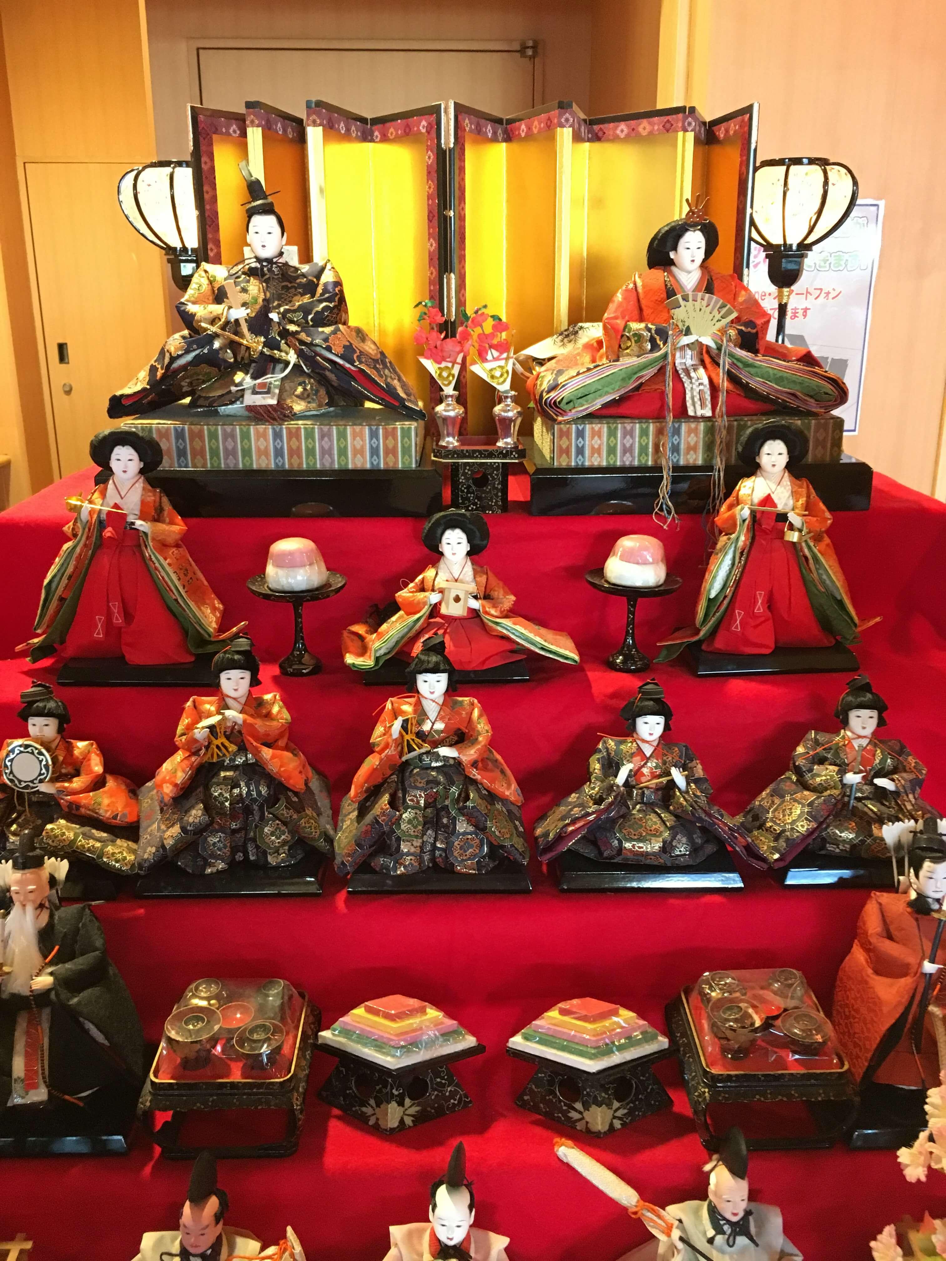 龍宮城ホテル三日月 雛人形