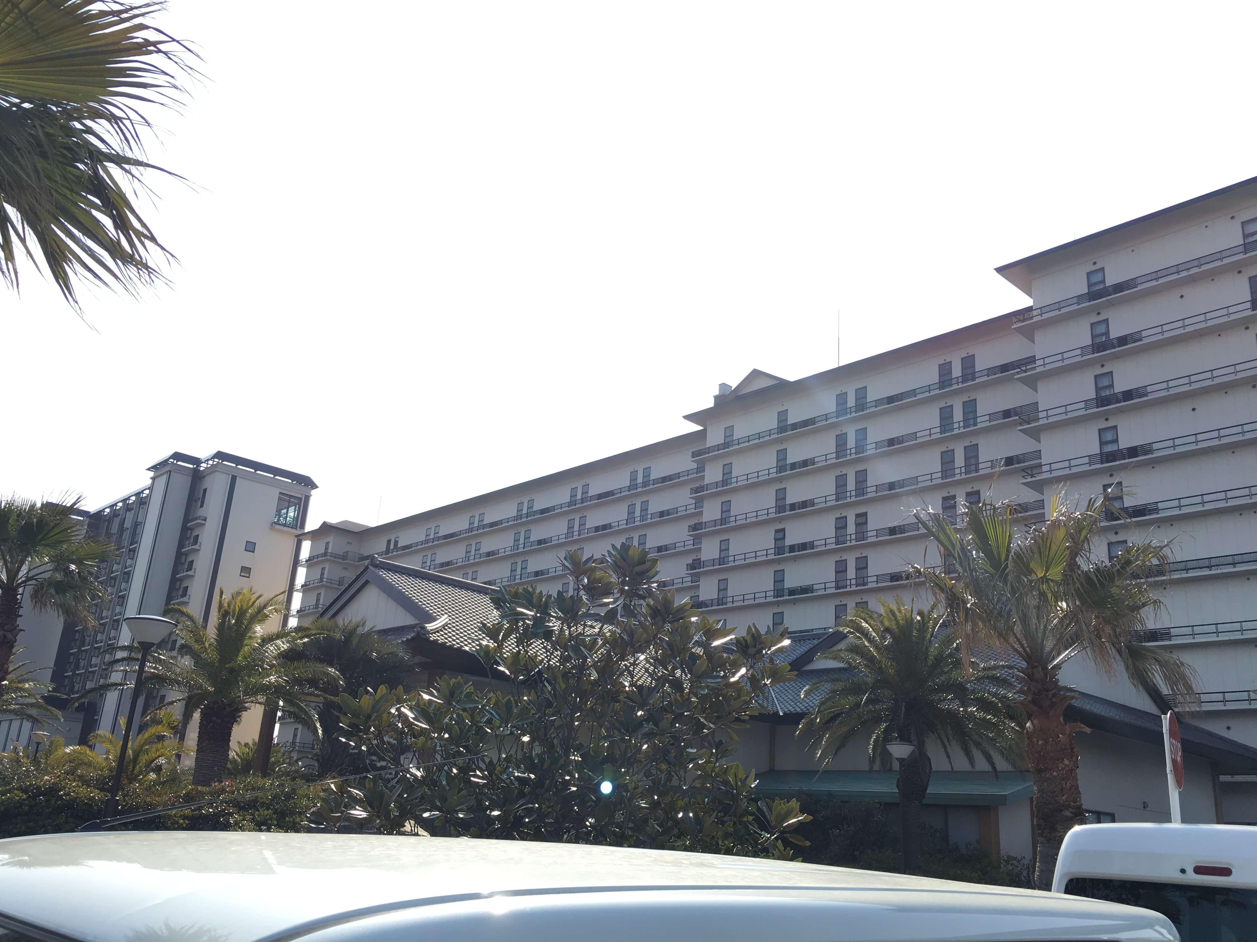 龍宮城ホテル三日月 外観